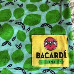 almost new Bacardi rum Lime s/s T-shirt Sz XL